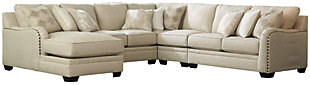 Luxora 5-Piece Sectional with Chaise, , large