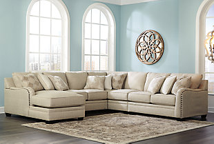 Luxora 5-Piece Sectional with Chaise, , rollover