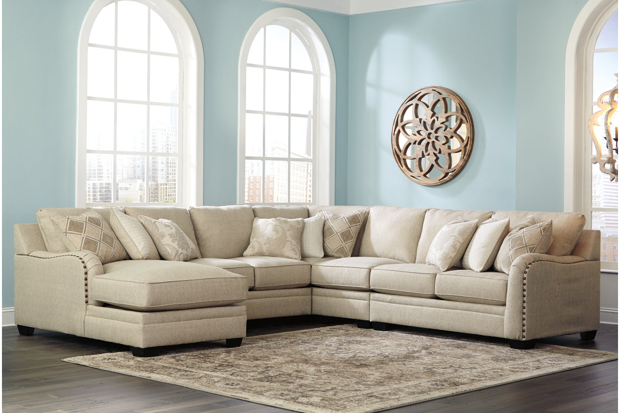 Luxora 5 Piece Sectional With Chaise