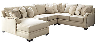 Luxora 4-Piece Sectional with Chaise, , large
