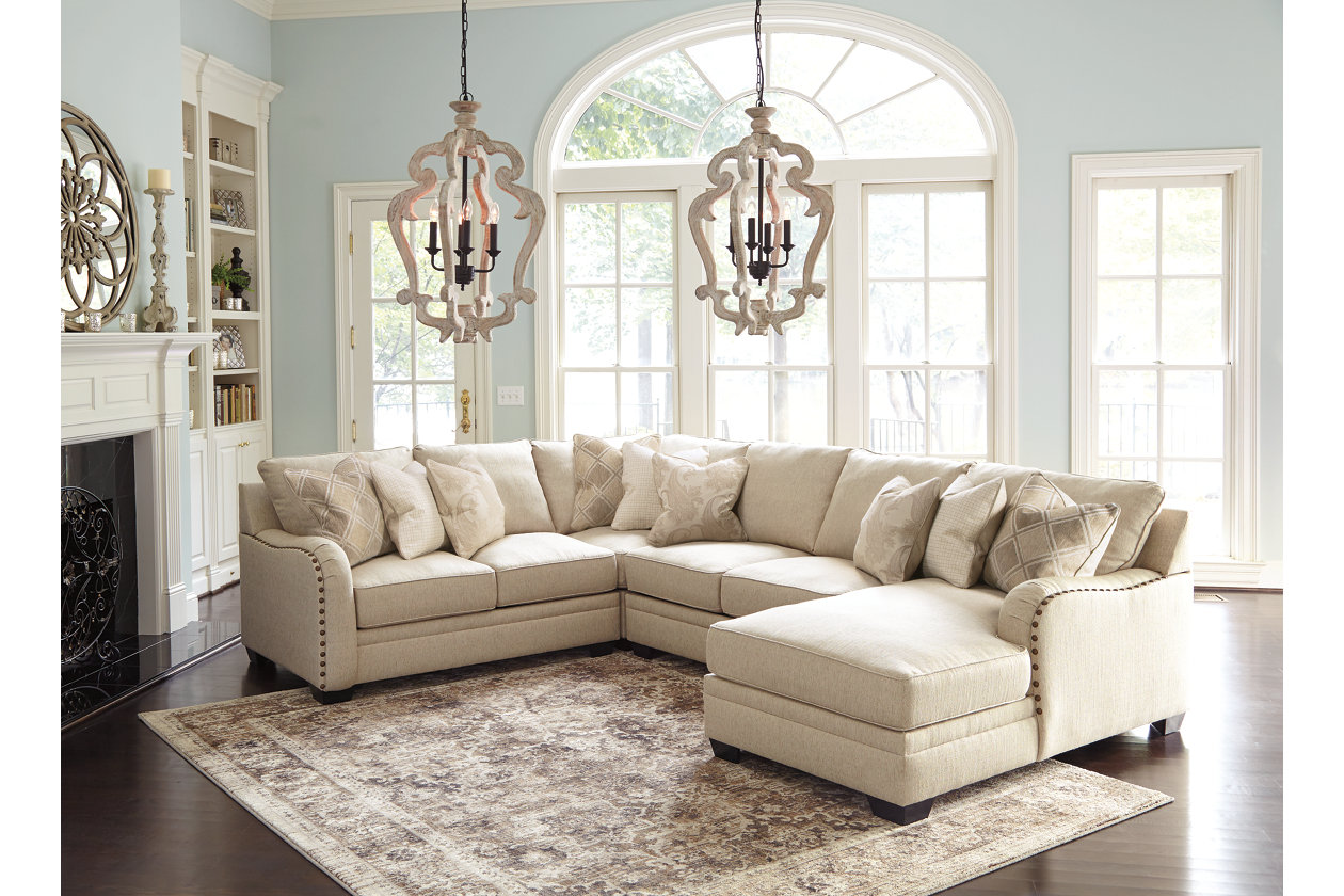 Luxora 4-Piece Sectional with Chaise | Ashley Furniture ...