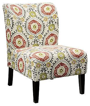 Honnally Accent Chair, Floral, Large ...