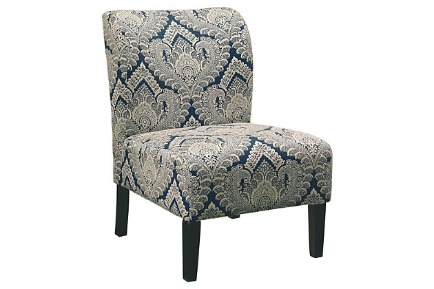 Honnally Accent Chair, Sapphire, large