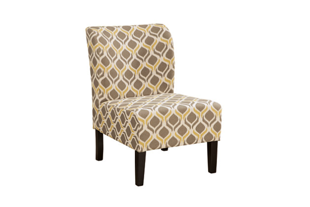 Honnally Accent Chair, Gunmetal, large