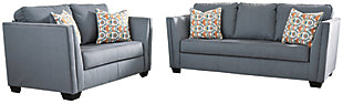 Filone Sofa and Loveseat, Steel, rollover
