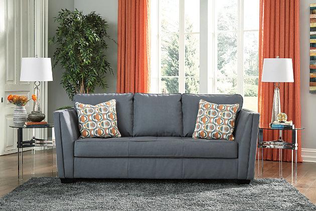 Filone Sofa, Steel, large