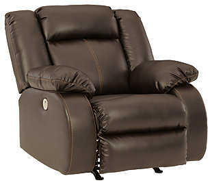 Denoron Power Recliner, Chocolate, large