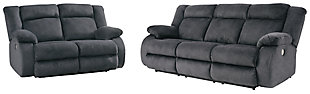 Burkner Sofa and Loveseat, , large