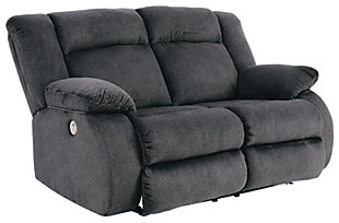 Burkner Power Reclining Loveseat, , large