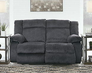 Burkner Power Reclining Loveseat, , rollover