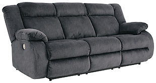 Burkner Power Reclining Sofa, , large
