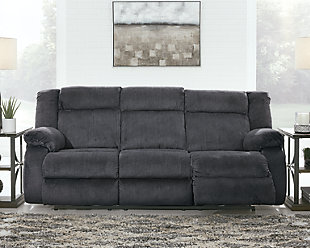 Burkner Power Reclining Sofa, , rollover