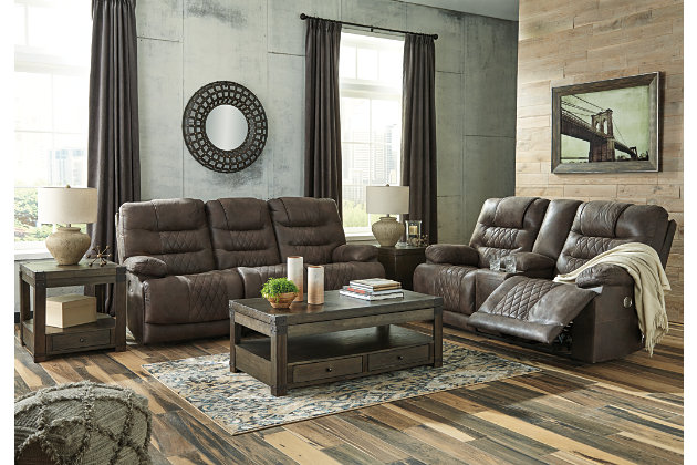 Welsford Power Reclining Loveseat with Console, , large