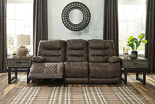 Welsford Power Reclining Sofa, , rollover
