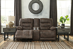 Welsford Power Reclining Loveseat with Console, , rollover
