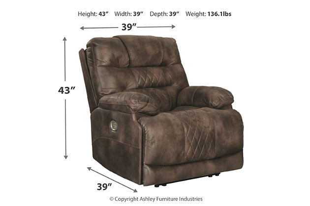 Welsford Power Recliner, , large