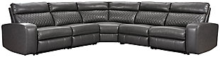 Samperstone 5-Piece Power Reclining Sectional, , large
