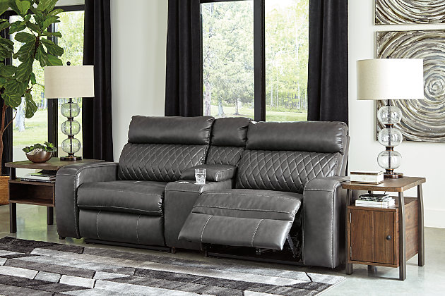 Samperstone 3-Piece Reclining Sectional with Power, , large