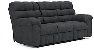 Wilhurst Reclining Sofa with Drop Down Table, , large