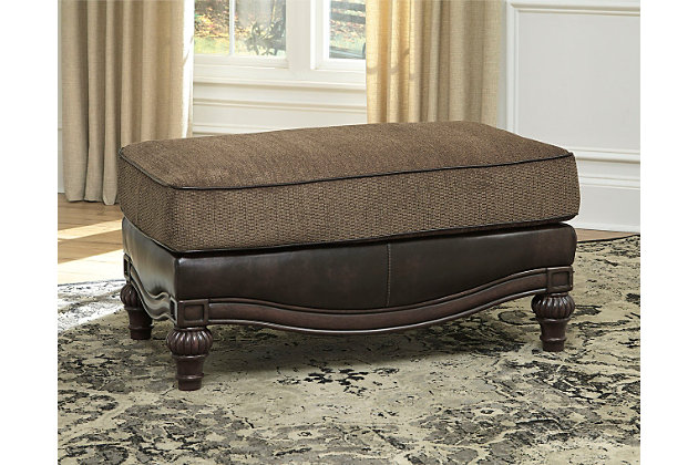 Winnsboro DuraBlend ® Ottoman by Ashley HomeStore,