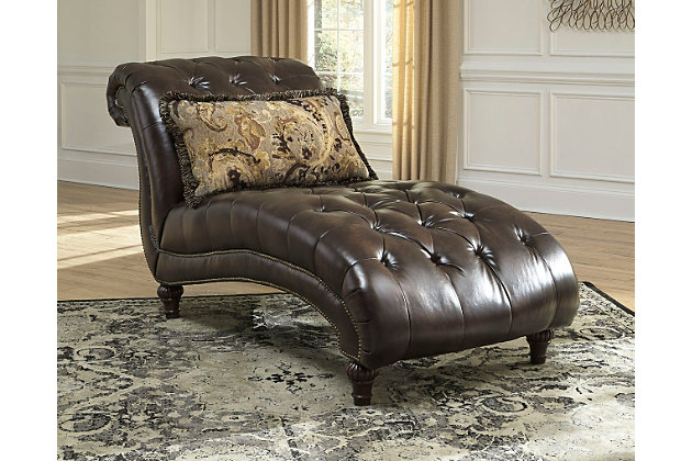 Winnsboro durablend chaise ashley furniture homestore for Ashley durablend chaise