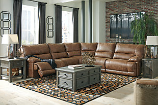 Thurles 5-Piece Power Reclining Sectional, , large