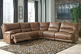 Thurles 5-Piece Power Reclining Sectional, , rollover