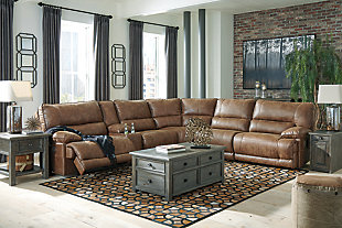 Thurles 6-Piece Power Reclining Sectional, , large