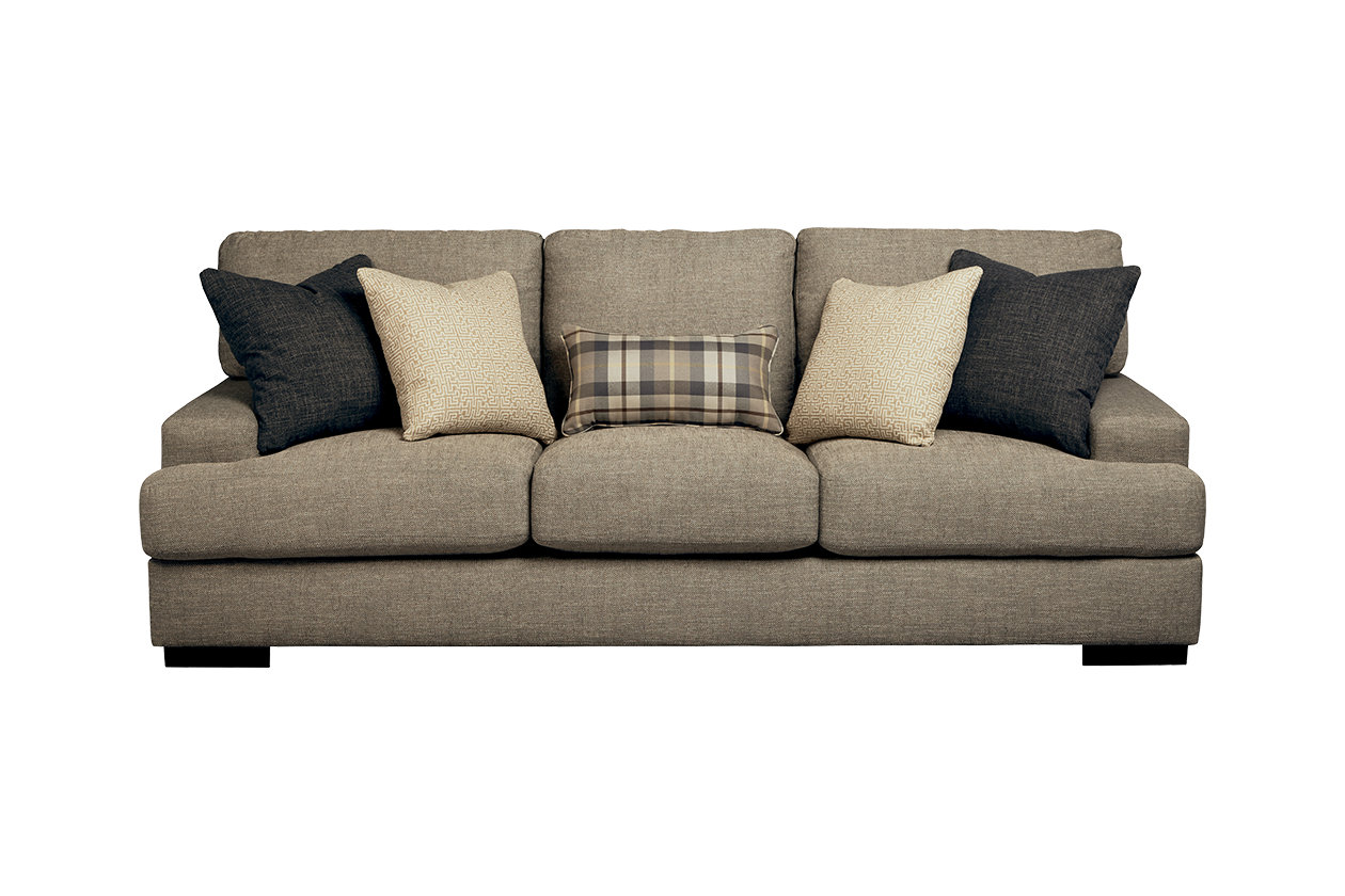 overstock great ashley signature at shopping fabric com pin couches charcoal makonnen furniture by sofa deals design