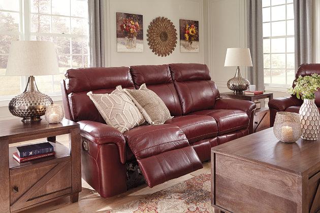 Duvic Power Reclining Sofa, , large