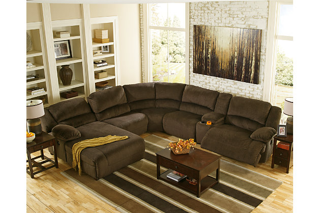 Toletta 6 Piece Sectional Non Power Large