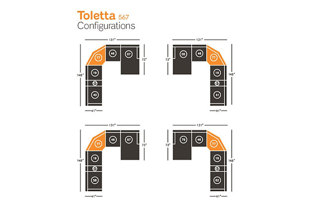 Toletta Wedge, , large