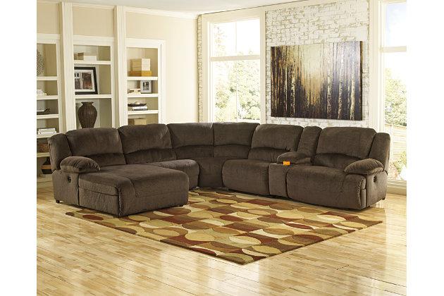 Toletta sectionnel 6 morceaux lectrique meubles for Meuble ashley prix