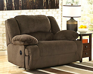 Toletta Oversized Recliner, Chocolate, rollover