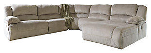 Toletta 5-Piece Reclining Sectional with Chaise and Power, , large