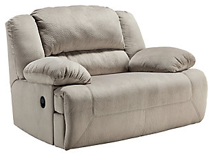 Toletta Oversized Power Recliner, Granite, ...
