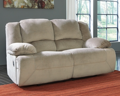 Toletta Power Reclining Loveseat by Ashley HomeStore, Gra...