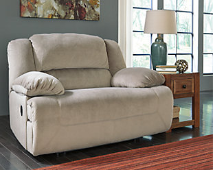Toletta Oversized Power Recliner, Granite, rollover