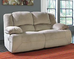 Toletta Reclining Loveseat, Granite, rollover