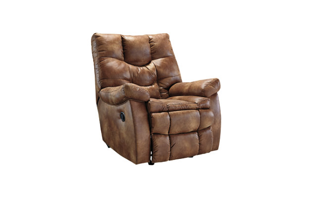 Almond Brown Leather Recliner  sc 1 st  Ashley Furniture HomeStore & Darshmore Recliner | Ashley Furniture HomeStore islam-shia.org