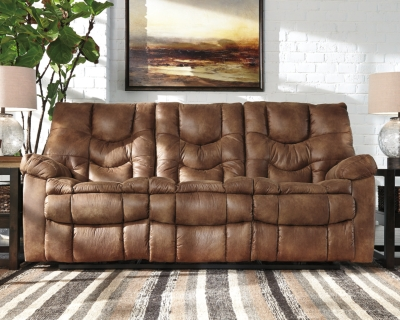 Reclining Sofa Almond Power Product Photo 429