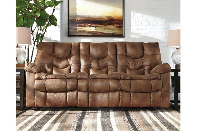 Power Sofas Loveseats And Recliners Ashley Furniture HomeStore - Leather sofa reclining