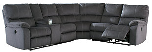 Urbino 3-Piece Reclining Sectional with Power, , large
