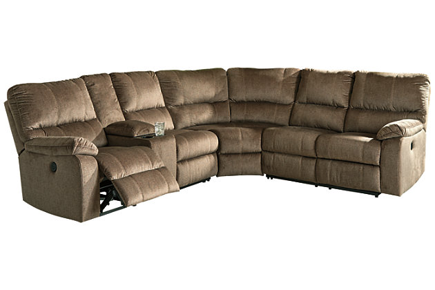 Urbino 3-Piece Power Reclining Sectional, , large