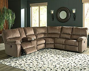 Urbino 3-Piece Reclining Sectional, , rollover