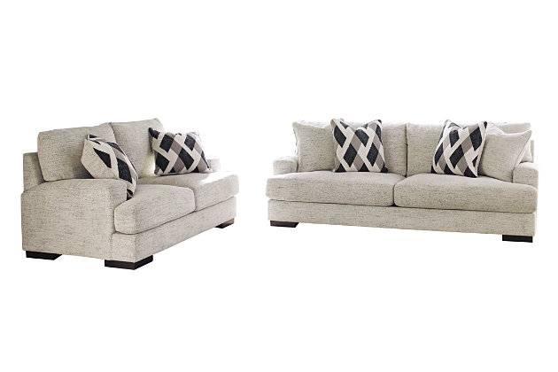 Geashill Sofa and Loveseat, , large