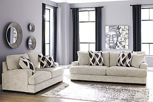 Geashill Sofa and Loveseat, , rollover