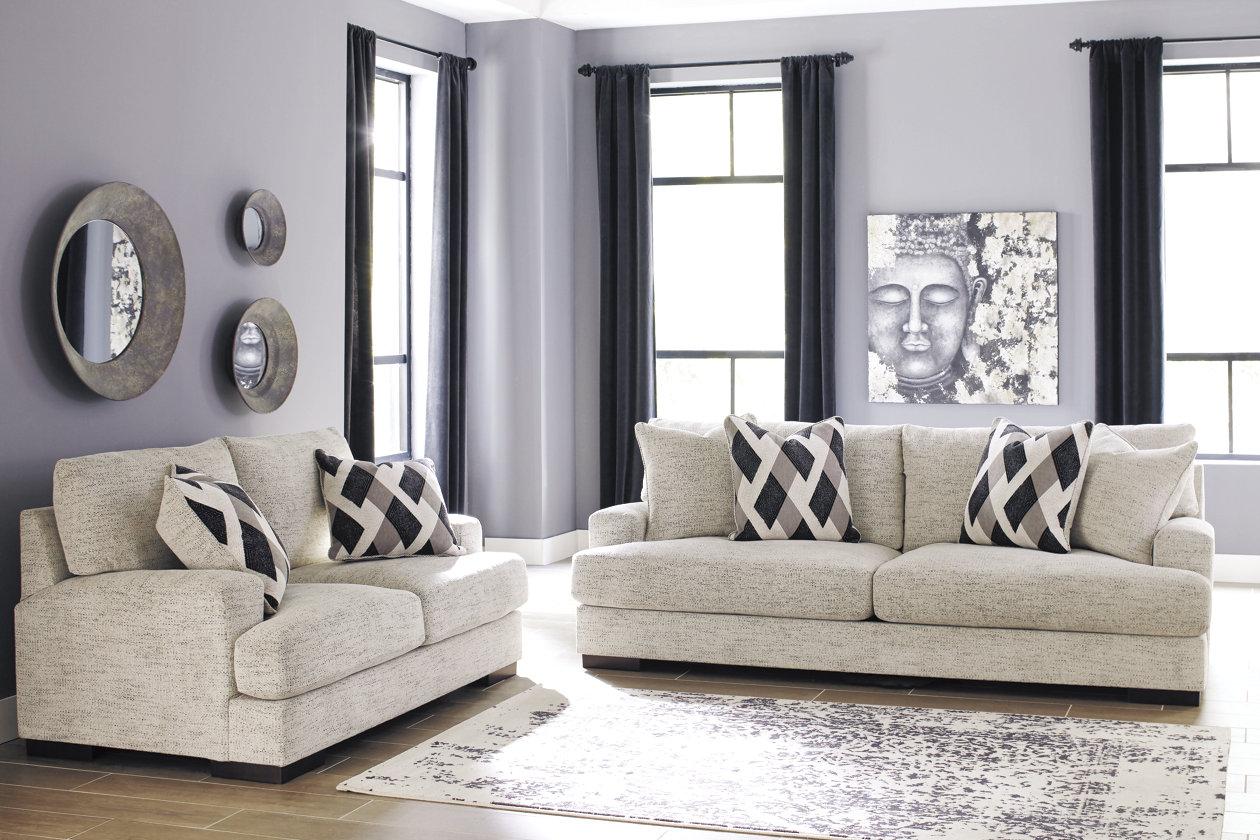 Sensational Geashill Sofa And Loveseat Ashley Furniture Homestore Spiritservingveterans Wood Chair Design Ideas Spiritservingveteransorg