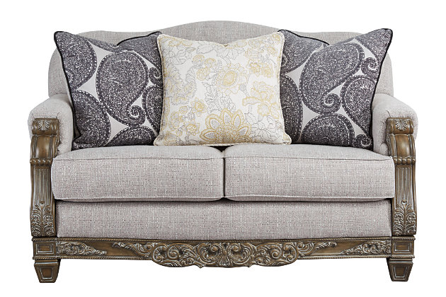Sylewood Sofa and Loveseat, , large