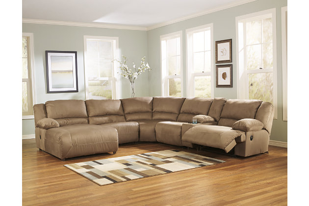 Hogan 6 Piece Sectional Ashley Furniture Home Store